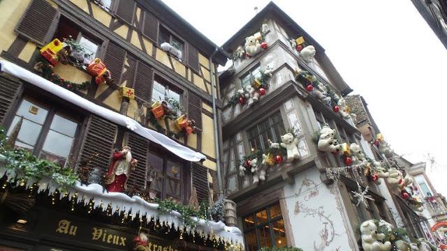 Decoración de Navidad en Estrasburgo