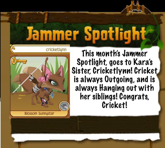 Monthly Jammer Spotlight - June!