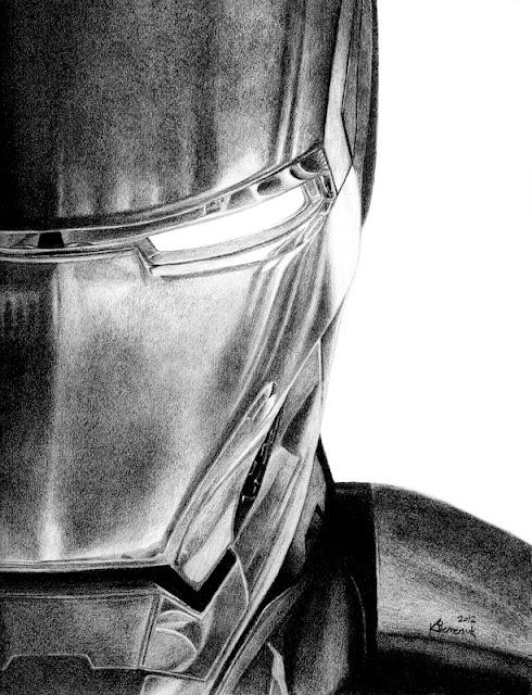 Ironman Logo Drawings Iron Man Face Drawings in
