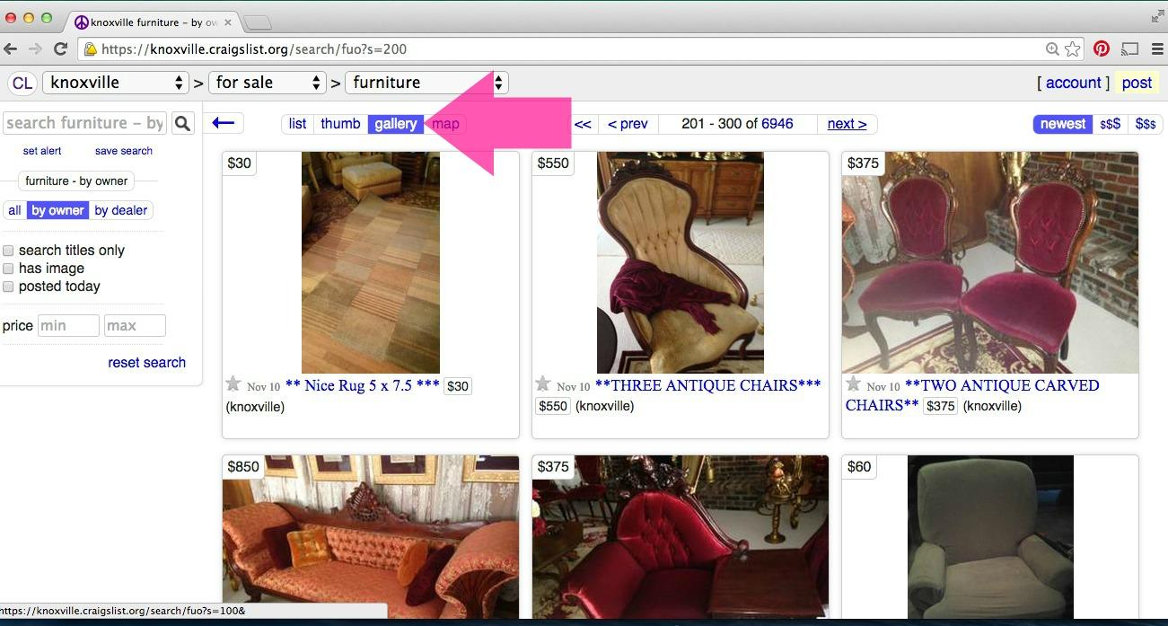 10 Secrets for Buying The Best Furniture on Craigslist