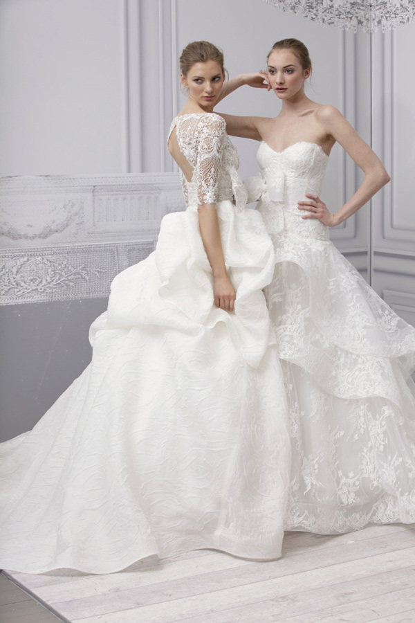 Cheap Wedding Gowns Online Blog: Monique Lhuillier wedding dresses 2013