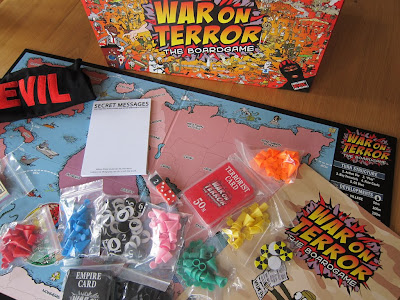 The game box and components