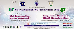 Join Us @ Nigeria DigitalSENSE Forum 2015: