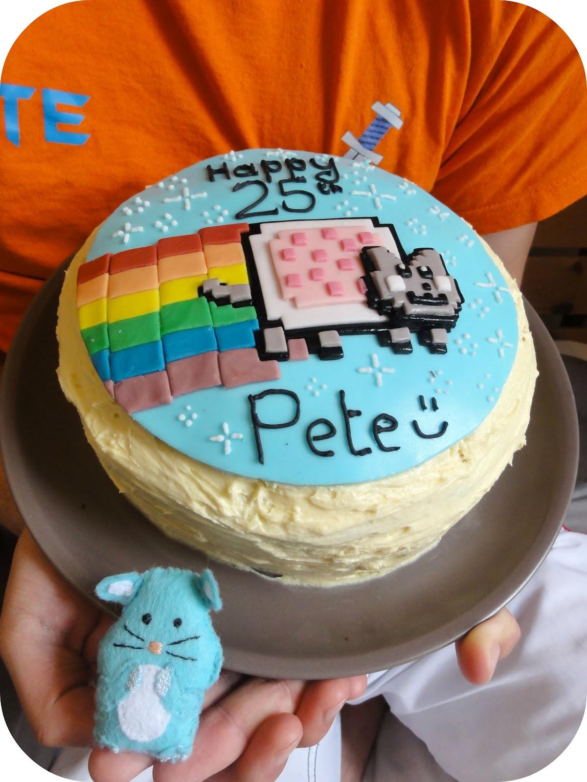 Nyan Cat Cake Recipe