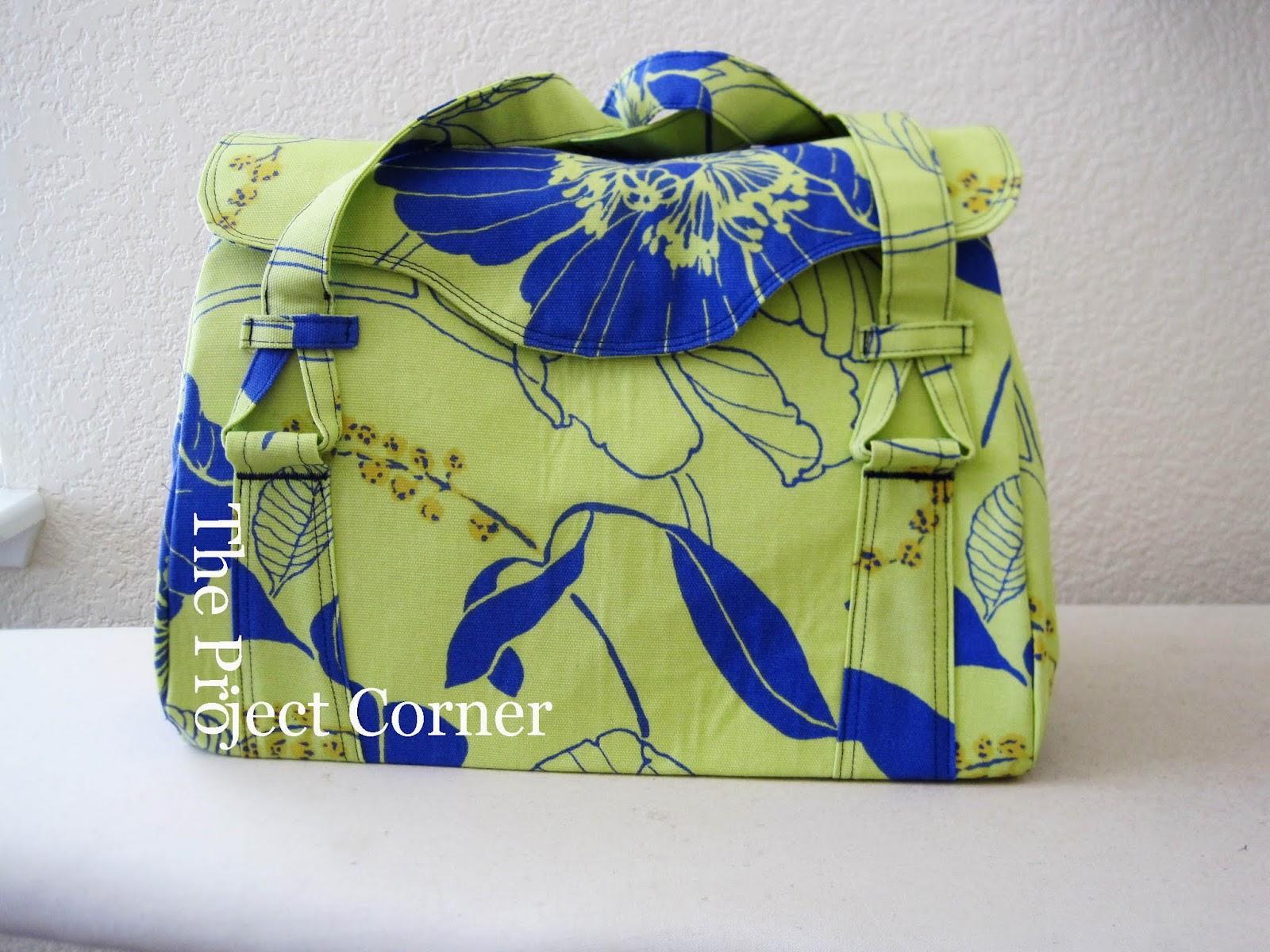 The Project Corner: Baby Prep: Diaper Bag