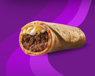Beefy Five Layer Burrito
