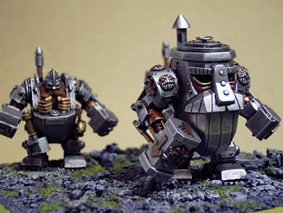 Warhammer Dwarf Steam Golem miniature