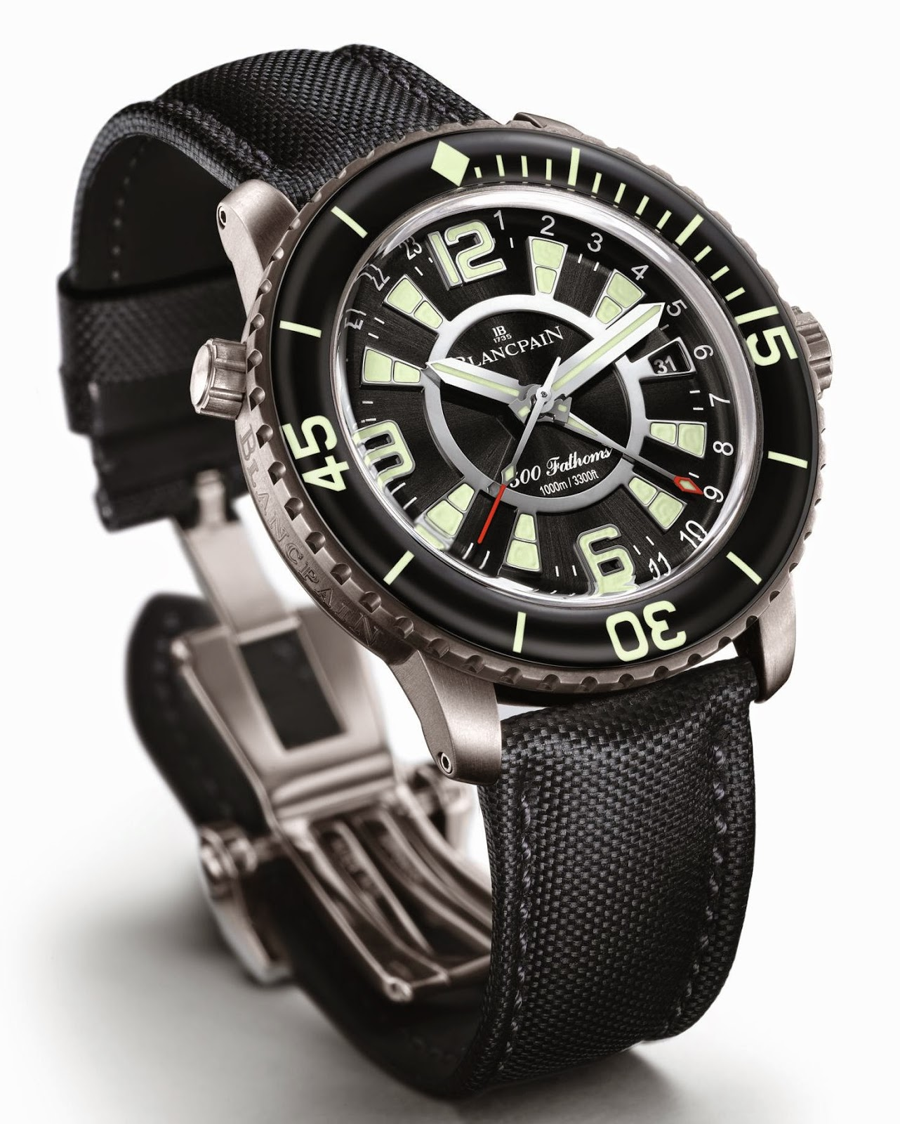 Blancpain 500 Fathoms GMT copy watch