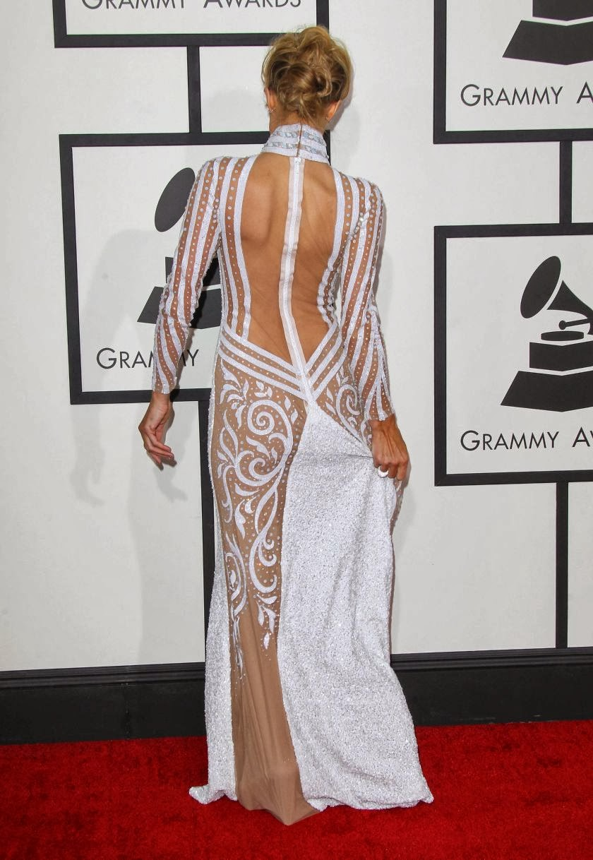 Paris Hilton Looks Gorgeous at 56th GRAMMY Awards