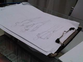 Sketched uniforms