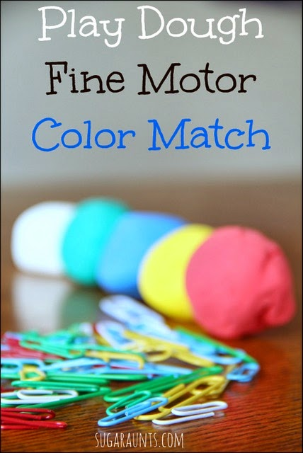 Color matching and learning activity for Toddlers and Preschoolers