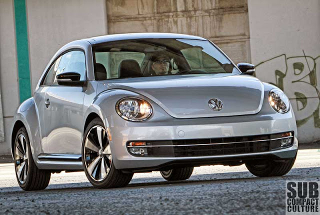 2012 Volkswagen Beetle Turbo driving