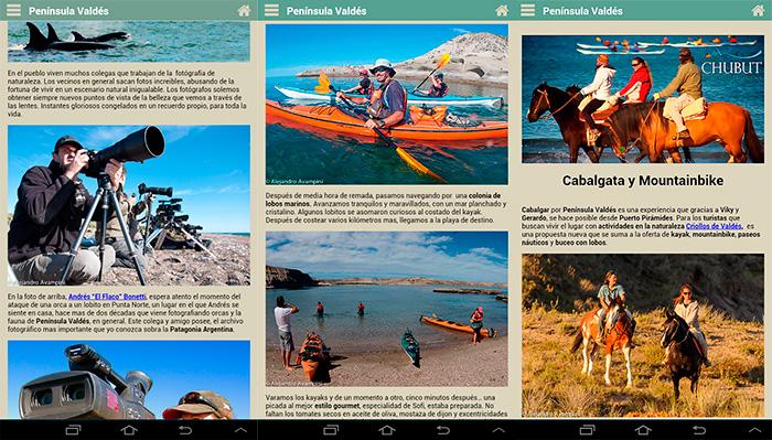 Aventura y Turismo en la Guia de Península Valdés