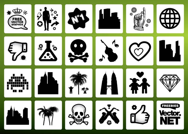 120+ Free Vector Signs Symbols Graphics Download