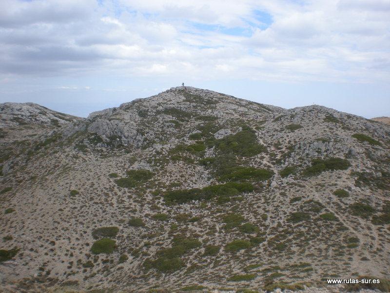 SIERRA MÁGINA: Pico Mágina 2164 m