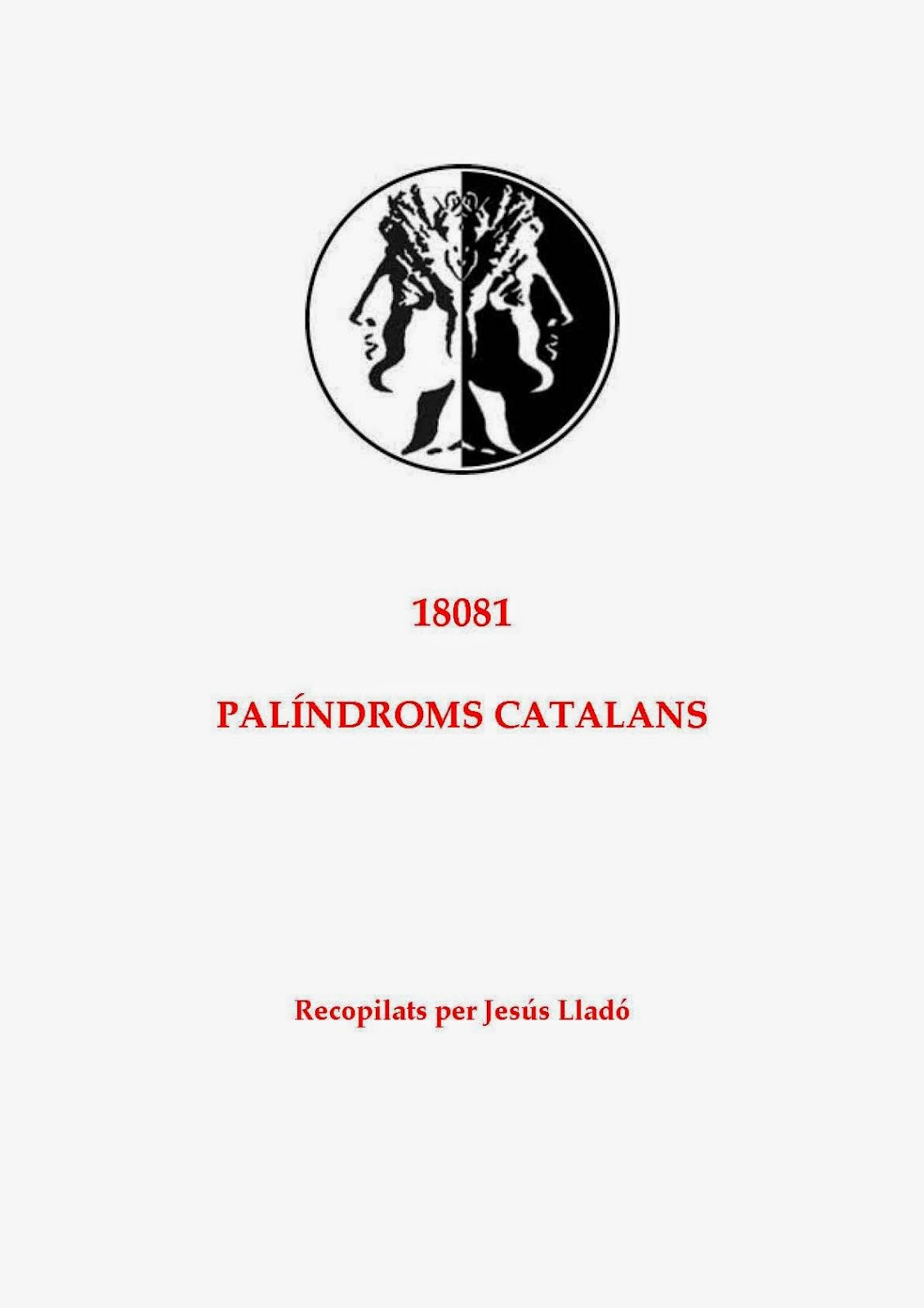 ARXIU GENERAL DE PALÍNDROMS CATALANS