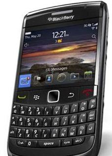 Work Gadget of the Year RIM Blackberry Bold 9780
