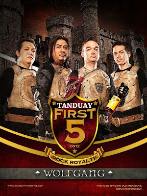 Tanduay First Five 2012:Wolfgang