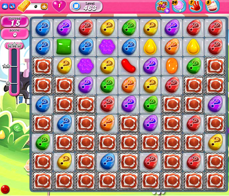 Candy Crush Saga 463