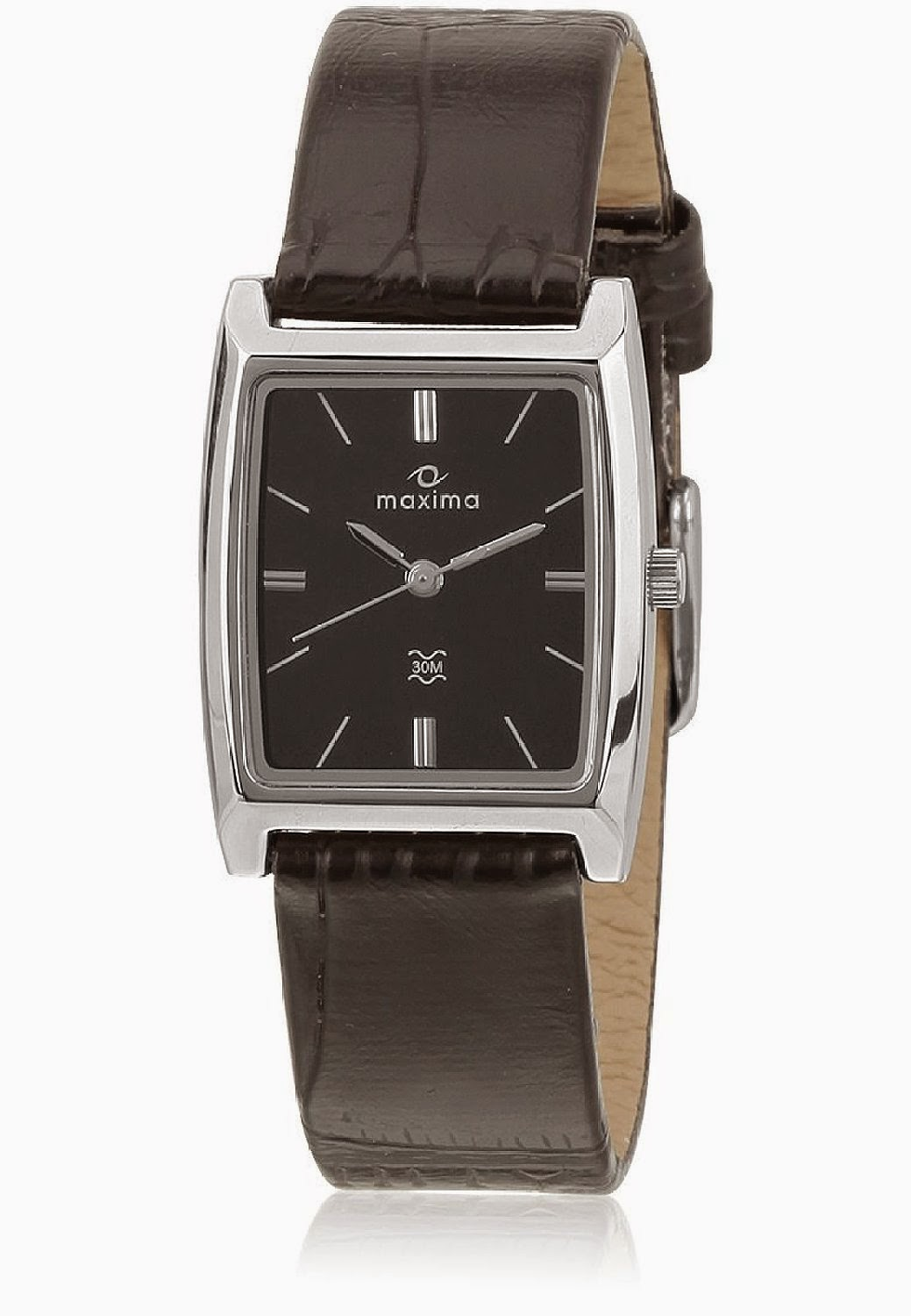 Maxima Attivo Analog Black Dial Men's Watch worth Rs 895 for Rs 397