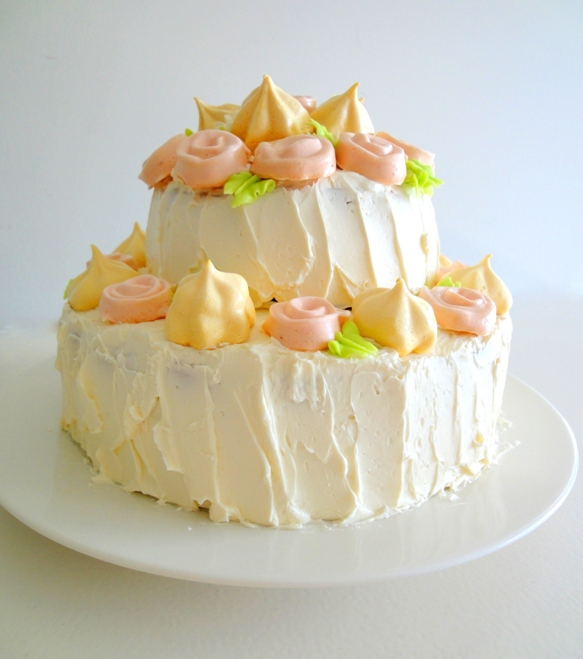 Vanilla Cake Decor : tast-e baking and caking adventures: Two Tier Vanilla ...