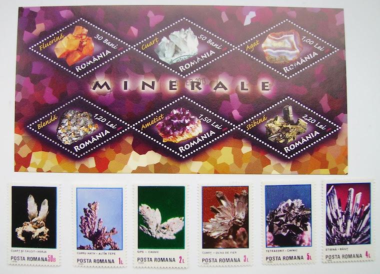 Minerale în filatelie