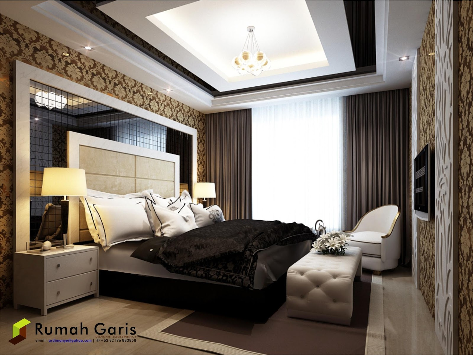 Design interior kamar minimalis - Interior Kamar Tidur Modern Minimalis Desain Makassar Jpg 1600 1200 Living Room Pinterest Living Rooms And Room
