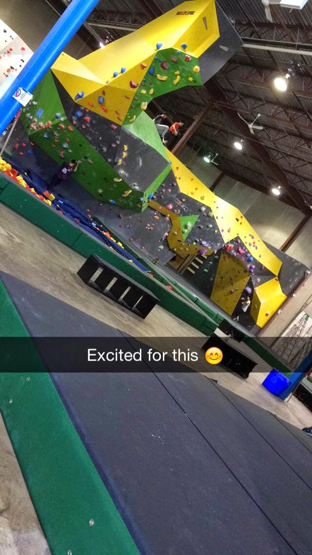 Rock Climbing or Bouldering at The Hub in Markham Ontario