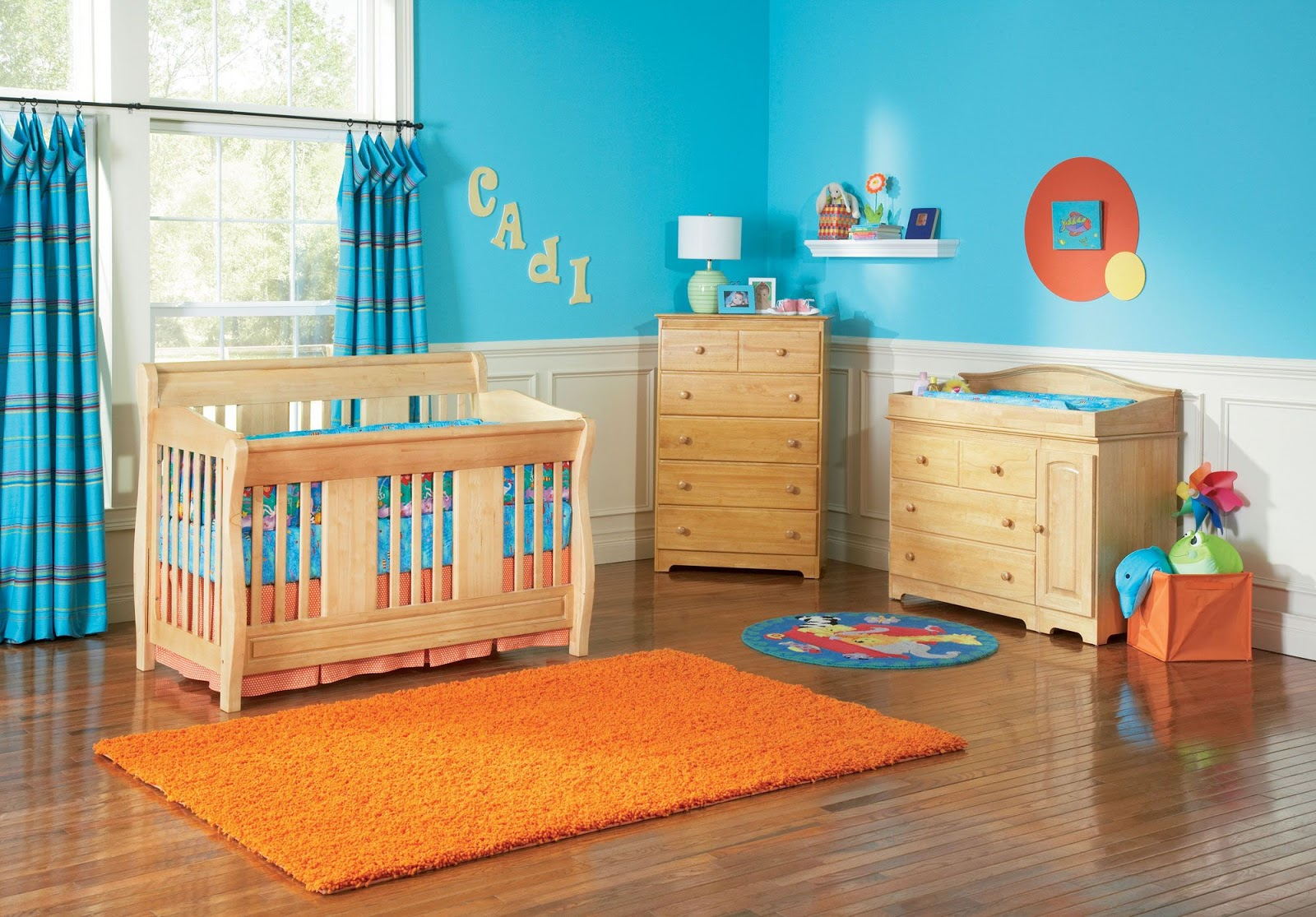 Image chambre bébé bois naturel - Bébé et décoration - Chambre bébé ...