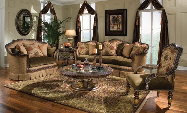 Interior home decoration for Italian living room designs