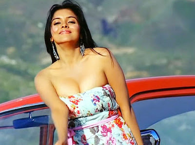 Spicy actress asin still from ghajini song
