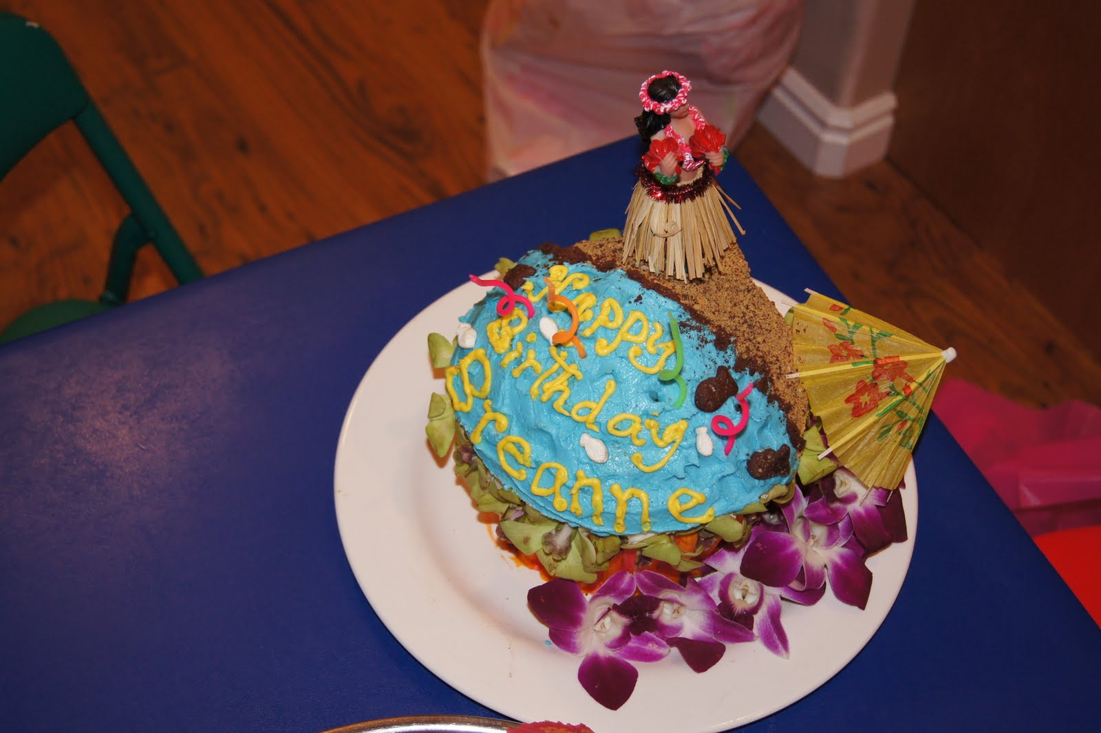 Jacobson Family Breannes Luau Birthday Party