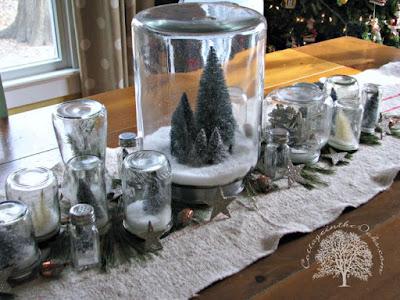 Bolas de nieve para decorar en Navidad