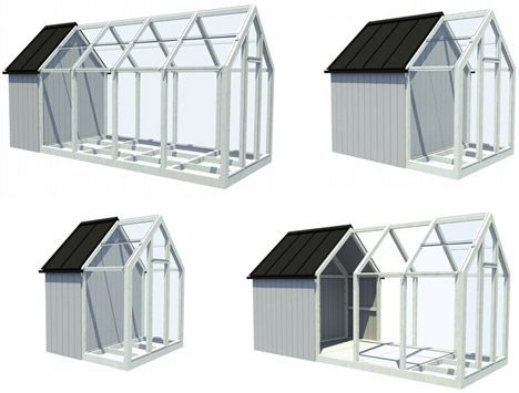 greenhouse shed kit