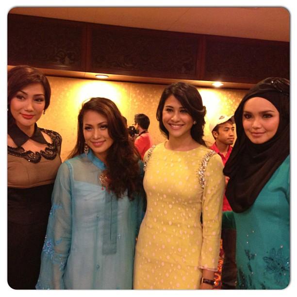 Anugerah Wanita Pilihan Melodi Raya semalam. Tahniah diucapkan