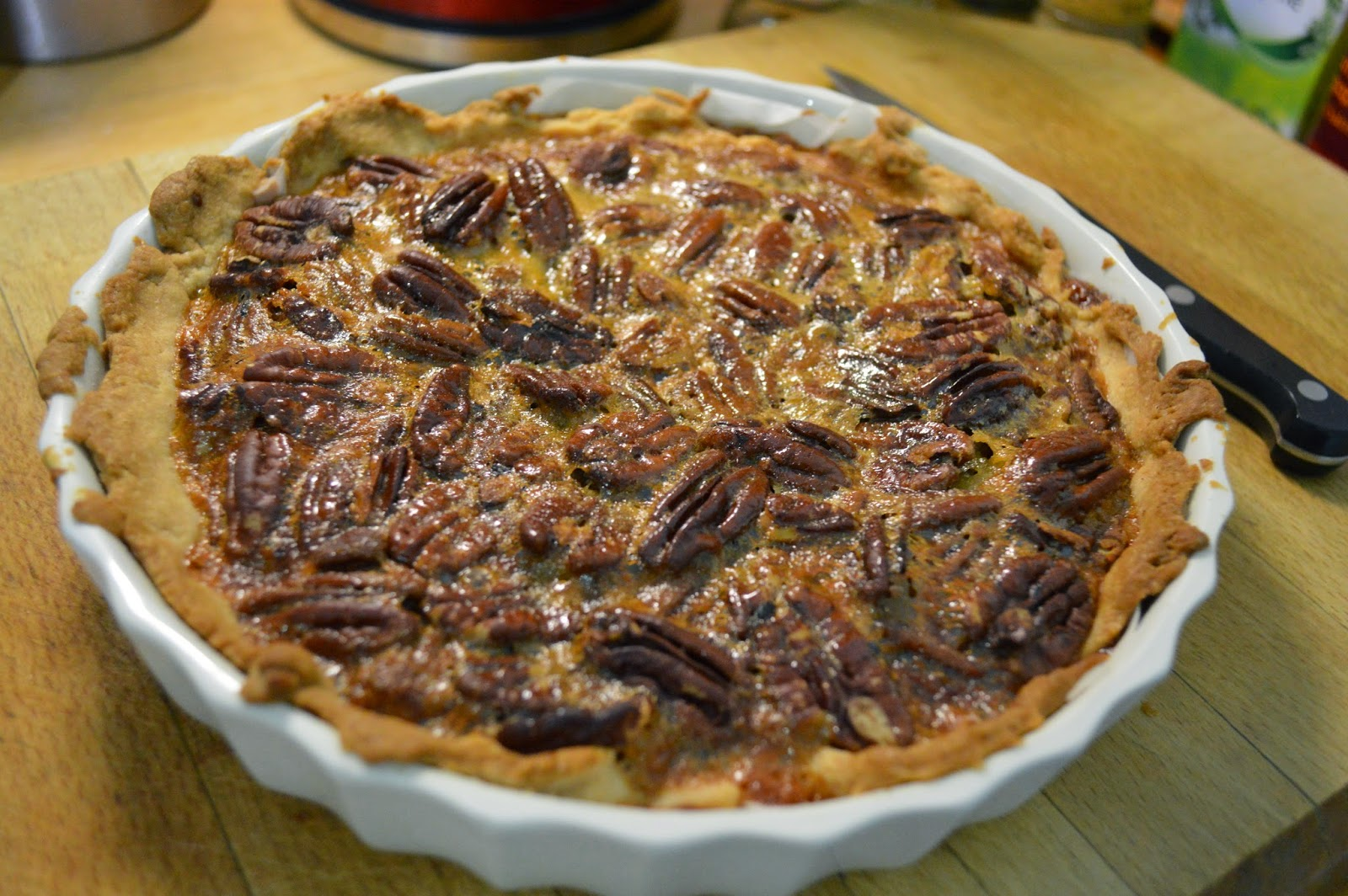 home-made, pecan pie, recipe, UK, gluten free, baking, photo