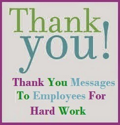 employee appreciation note