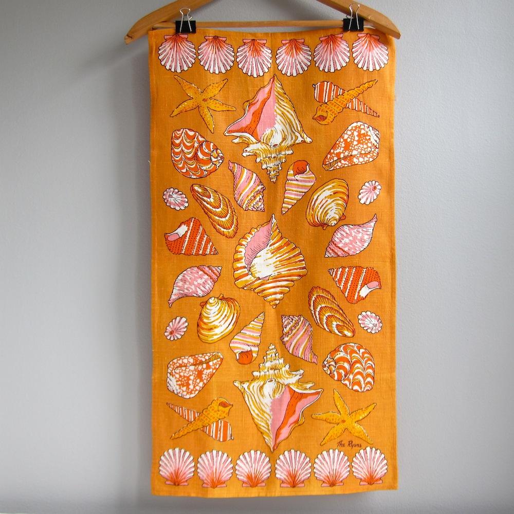 Jeni Sandberg 20th Century Design Vintage Kitchen Towels Wilendur Vera Neumann