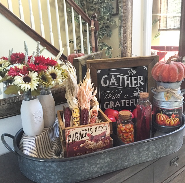 Fall Tray Styling