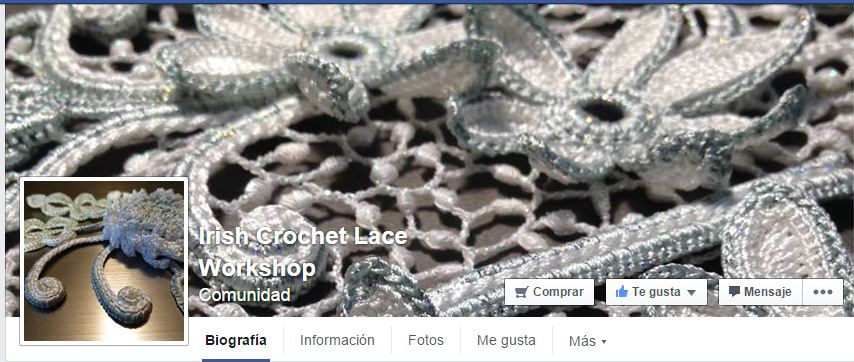 Irish crochet workshops/Talleres de crochet irlandés