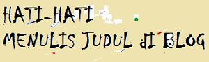 Menulis Judul