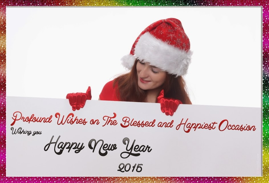 Lovely Happy New Year Wishes Greeting Cards 2015