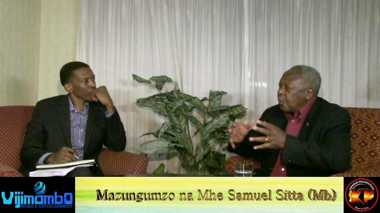 Mheshimiwa Samuel Sitta, Mubelwa Bandio,Washington DC, Kwanza Media Production