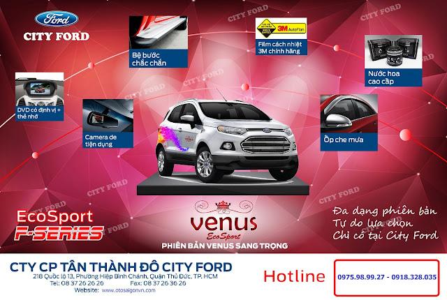 Poster%2BVenus 04 Ford Ecosport Titanium Limited phiên bản đặc biệt