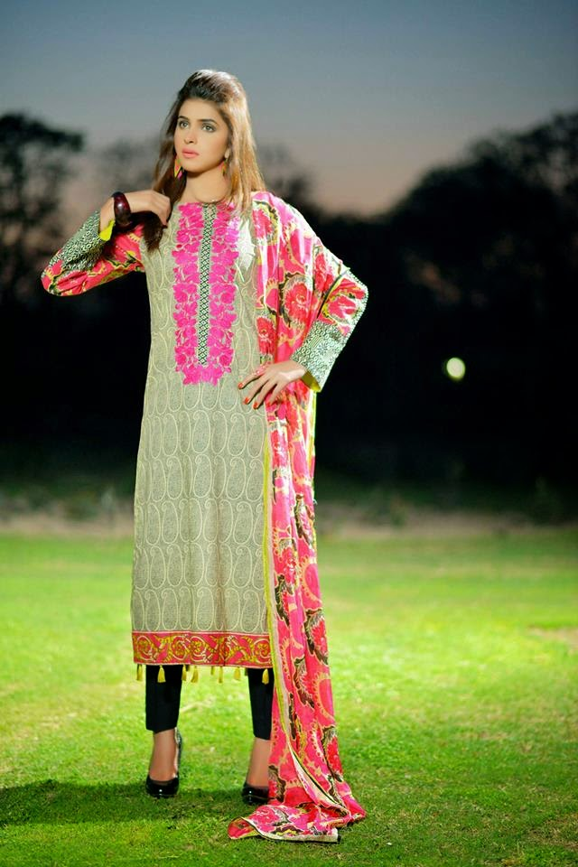 Spring Parsa Lawn Collection 2015 by Nimsay