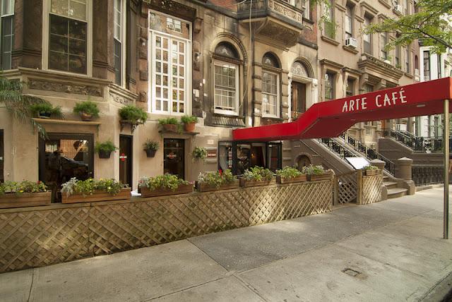 Arte Cafe em Nova York