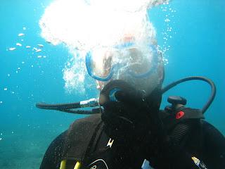 Cliché sub aquatique