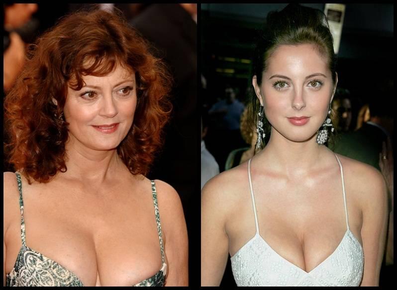 La hija de Susan Sarandon desnuda