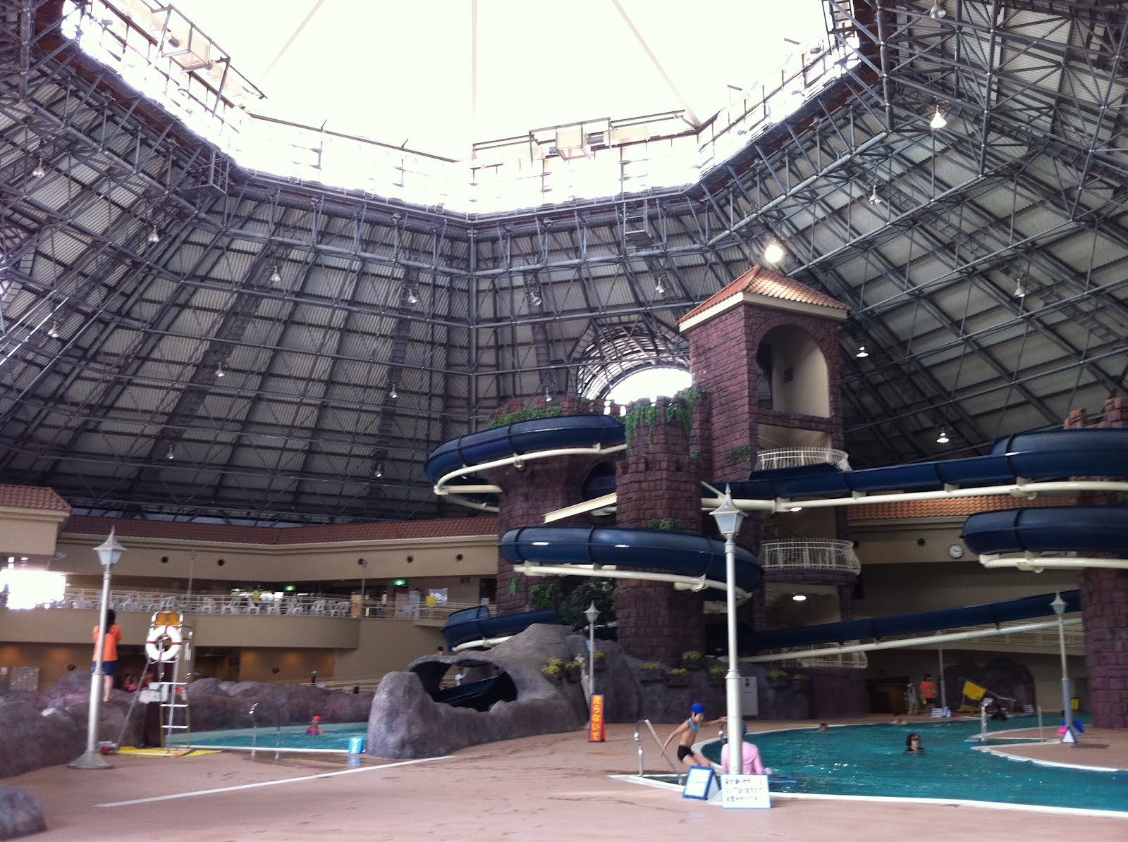 Surprisingly, There Are Not Many Places Which Offer Indoor Swimming Pools  With Big Slides In Or Near Tokyo. There Are A Few, Though, But It Is Always  ...