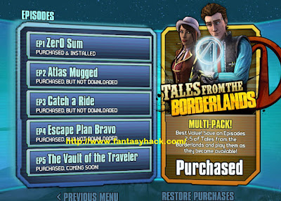 Download Free Game Tales from the Borderlands V1.3 Apk And Ipa 100% Working and Tested for IOS and Android